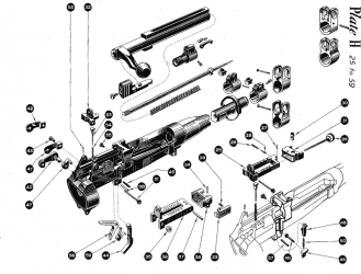 M16 Lower Receiver Parts Diagram moreover Ar 15 Parts Diagram furthermore Displayitem also M16 Auto Sear Diagram in addition Page14. on m16 auto sear diagram